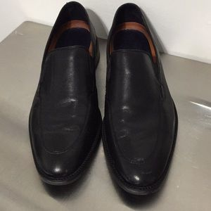 ColeHAAN Grand.OS black leather rubber sole mens